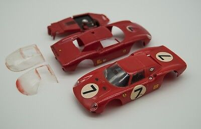 Vintage 1/32 Monogram Ferrari 330 Slot Car body
