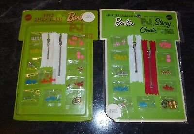 2 Vintage Barbie & Friends Teen Fashion Paks THE SEW IN + STITCH & STYLE 1969/70