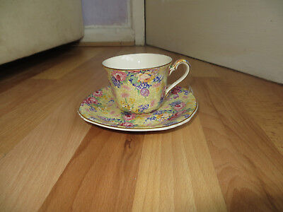 Royal Winton Welbeck cup and saucer. Royal Winton Chintz style, lovely colours