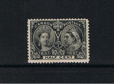 Canada -1897  Victoria Jubilee issue  -SG 121  Half cent Black Mint VLH Cat.£65