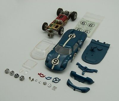 Vintage 1/32 Monogram Lola GT Slot Car Kit
