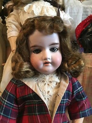 """Lovely Armand Marseille 390 17"""" Antique Doll Bjcb Vintage Clothes 3 Day Auction!"""