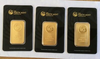 Perth Mint Gold Bar Collection