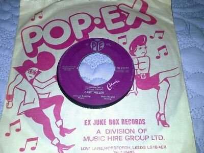 """Gary Miller 7""""single Mission Bell 1960 b side Happy Together."""