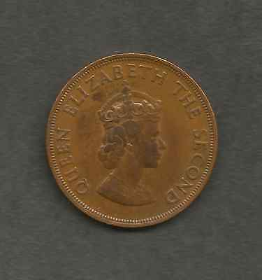 Bailwick - of Jersey One Twelfth1d of a Shilling or Penny Coi, Year 1964