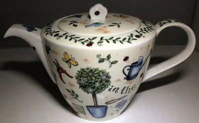 Stunning Dunoon Fine Bone China Gardener's World Tea Cup - Kate Mawdsley - Nice!