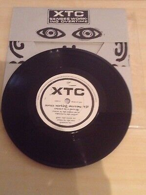 Xtc - Senses Working Overtime - Ltd Edition Fold Out Bag