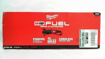 """Milwaukee M18 FUEL Super Hawg 1/2"""" Right Angle Drill 2709-20 TOOL ONLY!"""