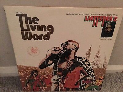 Wattstax 2 Lp The Living Word Us Copy Cutout/excellent