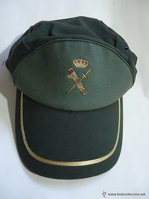 antigua gorra guardia civil descatalogada