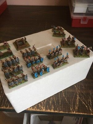 15mm Wargaming DPS DBM DBA Polybian Roman Army (49)Figures Painted Detailed