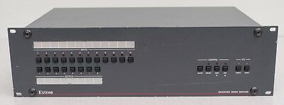 Extron Crosspoint Series RGBHV Matrix Switcher - Actual 8x4 with Stereo audio