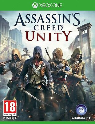 Assassin's Creed Unity Xbox one code/cle digital telechargement +DLC Dead Kings