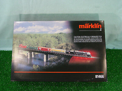 Marklin 81466 Large Freight set with transformer, track, switches, & buildings