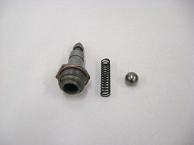 Lycoming IO-540 Oil Pressure Valve and Ball - Lot # A311