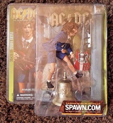 McFarlane AC/DC For Those About To Rock Angus Young w/ Hells Bell Figure SEALED