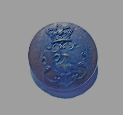 Bucks Rifle Volunteers Officer's Tunic Button (assumed to be first pattern)