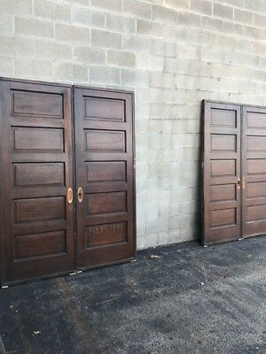 Cm 223 2Sets Available Price Separate Raise Panel Wood Grain Pocket Door 62 X 84