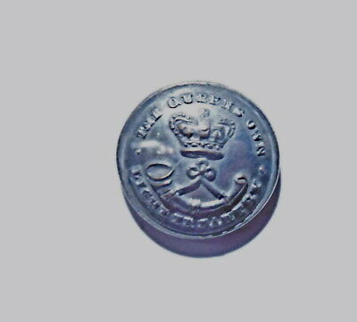 Queen's Own Light Infantry Tower Hamlets Militia Officer's Tunic Button