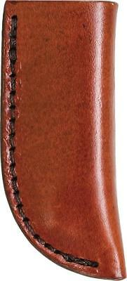 SCHRADE Old Timer LARGE Brown Leather SLIP IN KNIFE Sheath for Fixed Blade LS4