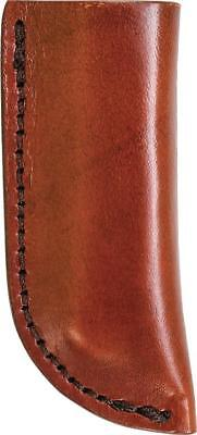 SCHRADE Old Timer Small Brown Leather SLIP IN KNIFE Sheath for Fixed Blade LS3