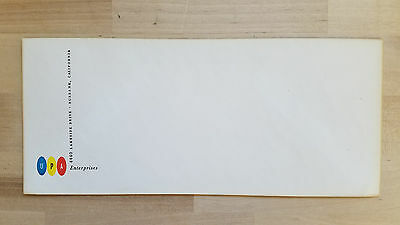 Upa Studios Mr Magoo Original Envelope 1950S-Unused