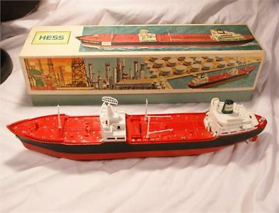 Hess Voyager Tanker Ship 1966 With Box Advertising