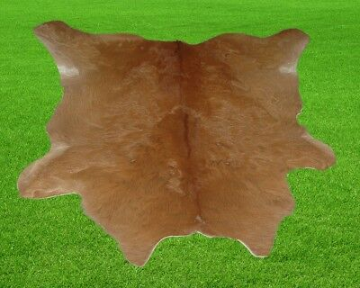 "New Calfhide Rugs Area Cow Skin Leather 6.25 sq.feet (30""x30"") Calf hide MB-2946"