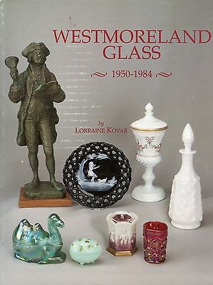 Westmoreland Glass 1950-1984 Patterns Design Numbers / Scarce Book + Values