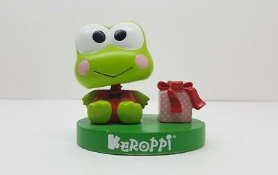 "RARE 2010 Limited Edition Keroppi Bobblehead ""Small Gift"" 3"" Resin Statue Sanrio"
