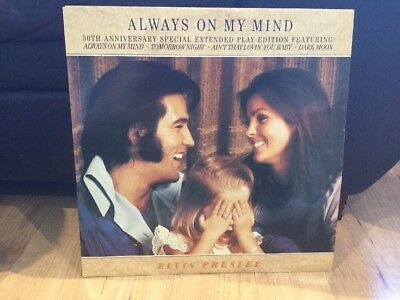 Elvis Presley Always On My Mind *50th Anniversary Special* Vinyl Record
