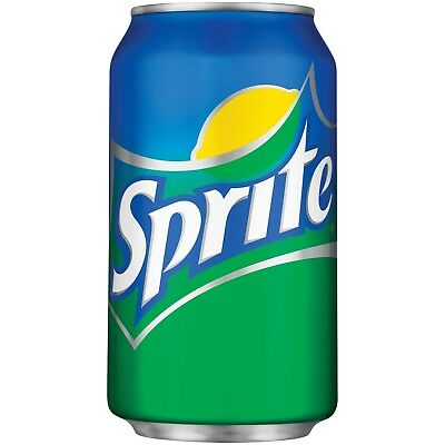 New Sprite Lemon-Lime Soda 12 Fl Oz Can Free Worldwide Shipping