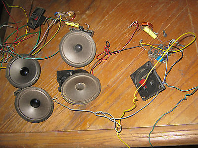 Bose 501 Tweeters  and Crossovers