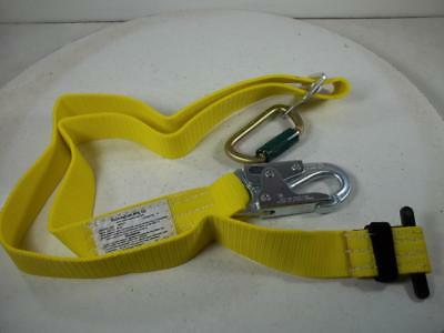 New 6 Ft Buckingham  Lineman Climbing Safety Tool Belt Secondary Lanyard Strap