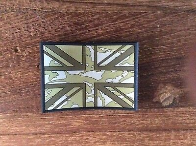 Union Jack Flag PVC Patch Subdued - UBACS