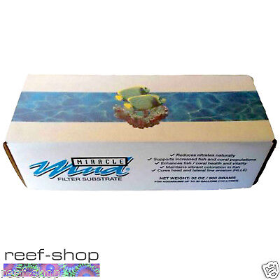 Miracle Mud EcoSystem Aquarium Substrate 2 lb Box FREE USA SHIPPING