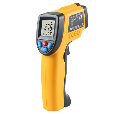 HOT IT100 LCD Temperature Gun Non-contact Infrared IR Laser Digital Thermometer