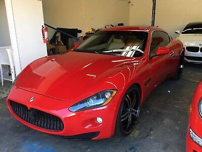 2008 Maserati Gran Turismo Base Coupe 2-Door 2008 Maserati Gran Turismo Base Coupe 2-Door