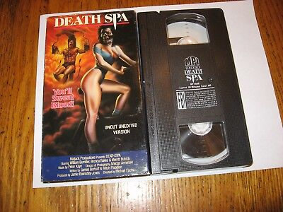Death spa/vhs/mpi home video/william bumiller