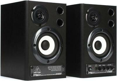 """Behringer MS20 3.6"""" Powered Monitor System with SPDIF"""