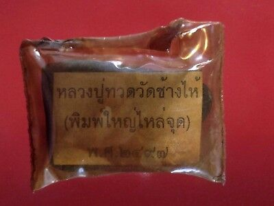 thai buddha amulet PHRA Statue Magic Powder LP Tuad maestro