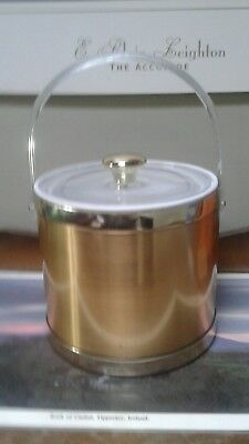 Brushed copper Ice Bucket