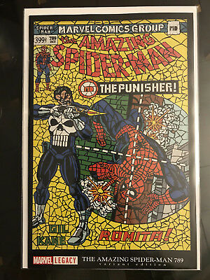Amazing Spider-Man #789 ~ SHATTERED VARIANT ~ ASM #129 Homage ~ Marvel Legacy