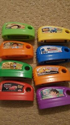 Fisher price smart cycle game cartridges set of 8
