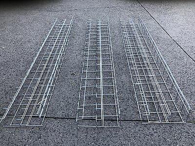 Cable Management Basket Tray - Double Layer 130cm x 20cm