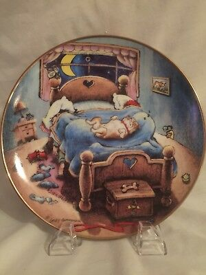 Bed Hog Bulldog by Gary Patterson Danbury Mint Limited Edition