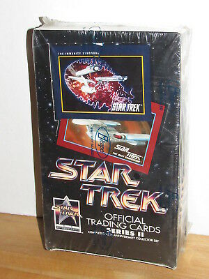 Star Trek 1991 25th Anniversary Series II Impel Trading Cards Factory Sealed Box