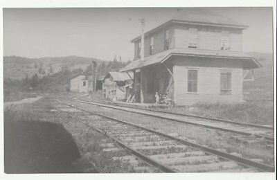 Railroad photo: Maine Central station at Lime Ridge Quebec