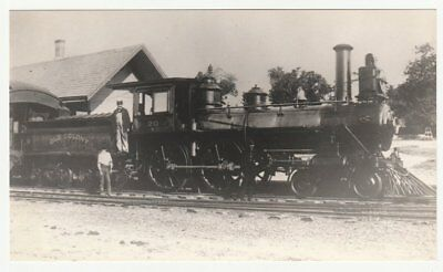 Railroad photo: Old Colony locomotive 20 at Chelmsford, Massachusetts