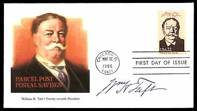 Mayfairstamps WILLIAM H TAFT 27TH US PRESIDENT FLEETWOOD CACHET ON UNSEALED FDC